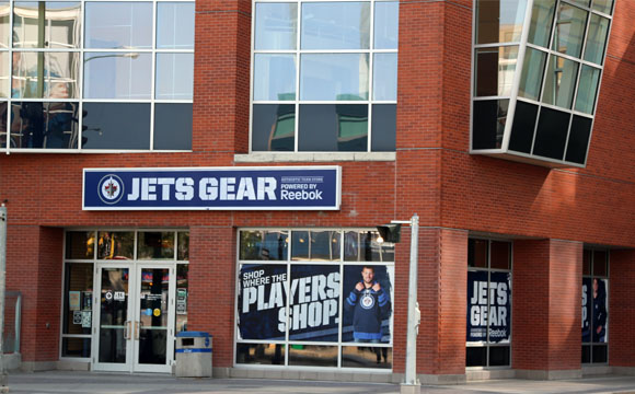half off 739d3 c4a59 JetsGear - Bell MTS Place : Bell MTS Place