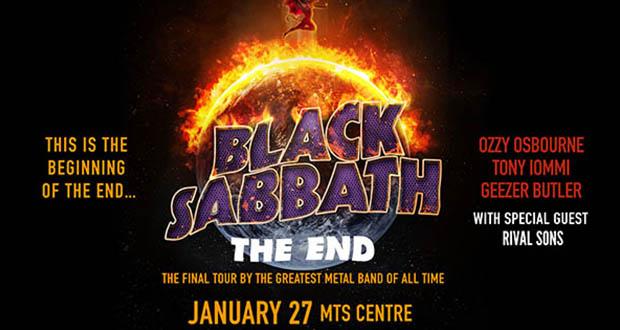 Black Sabbath The  End The Final Tour Concert Poster*