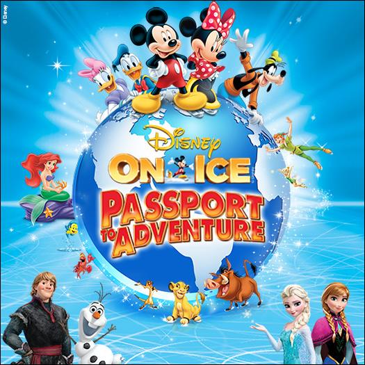 Disney on ice 16 19 mts centre