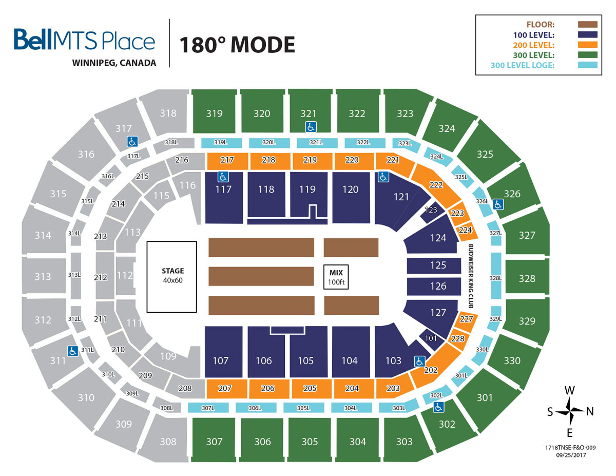 Bell MTS Place - 180 Mode Seating