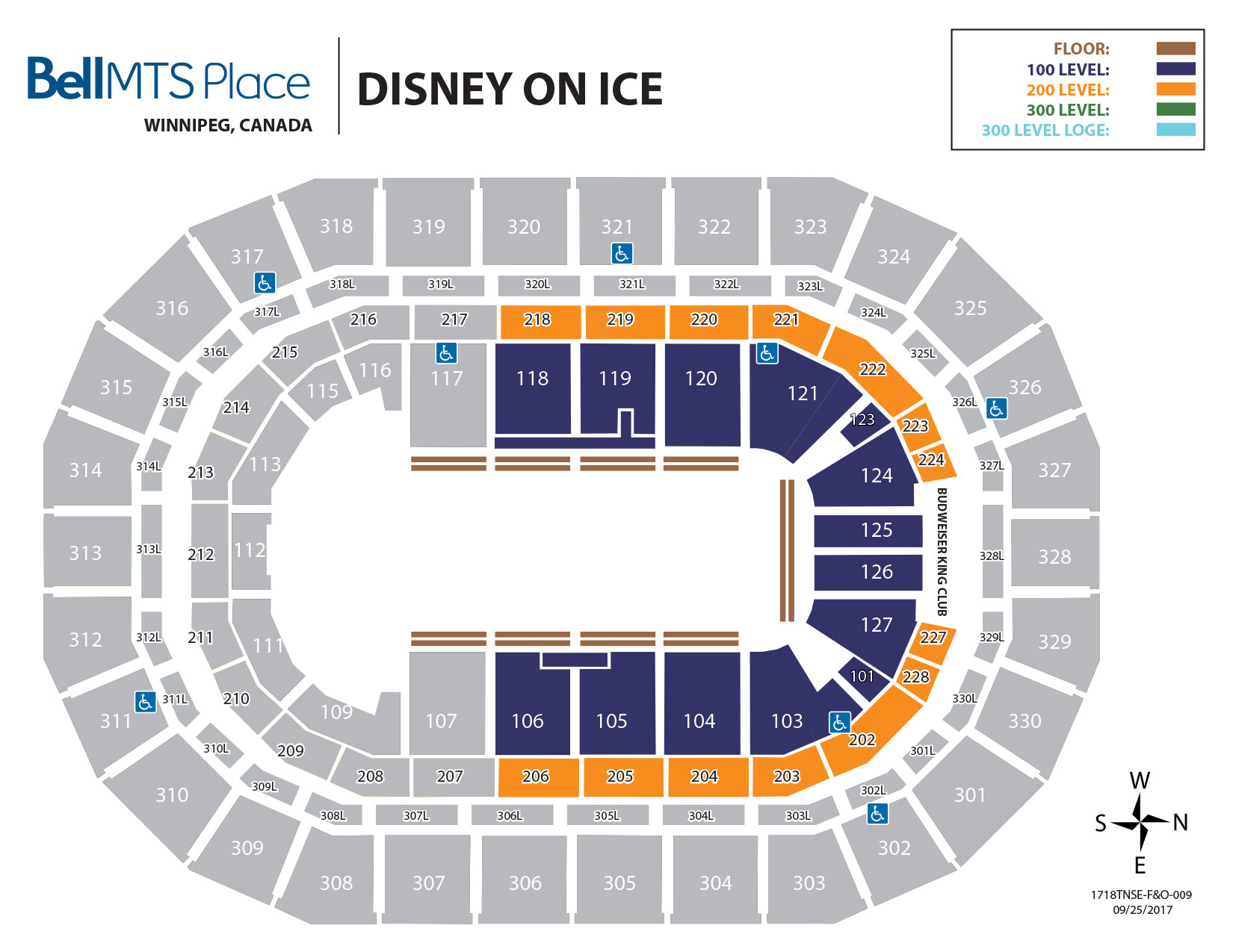 Bell MTS Place - Disney on Ice Seating