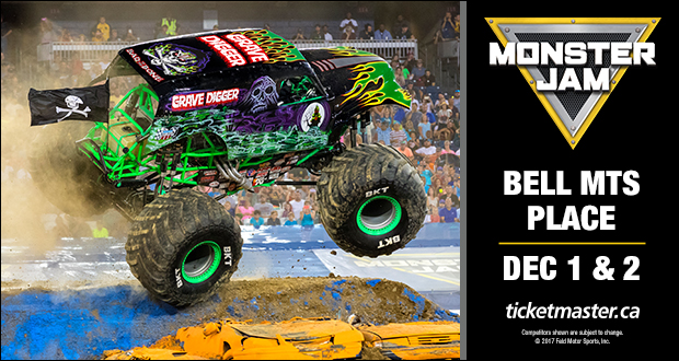 Monster Jam - Bell MTS Place : Bell MTS Place