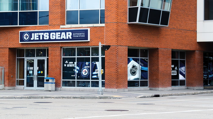 sale retailer 3fcad 9dfd6 Jets Gear - Bell MTS Place : Bell MTS Place